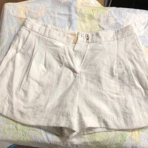 Michael Kors white shorts
